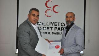 MHP'den Çat Belediye Başkanlığına Çetin Aday Adayı Oldu