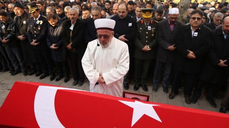 Şehit polis Teke son yolculuğuna uğurlandı