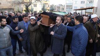 Seçen Ak Parti Milletvekili Menekşe'nin Babasının Cenazesine Katıldı
