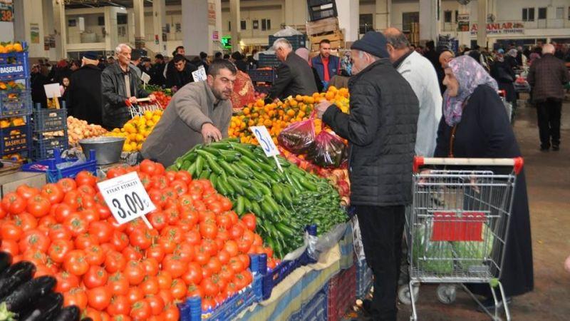 Nevşehir'de Pazarda Sadece Meyve ve Sebze Satılacak