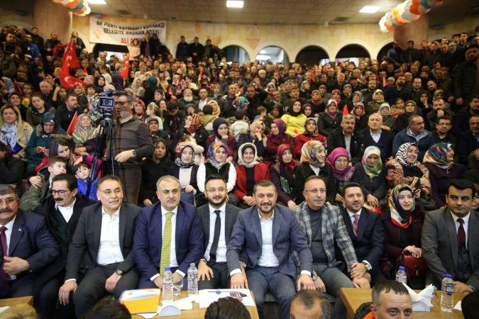 AK Parti Nevşehir'de ilçe ve belde adaylarını açıkladı