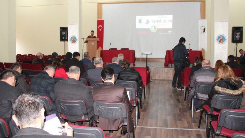"Avanos'ta ""Uyuşturucu madde ile mücadele"" semineri"