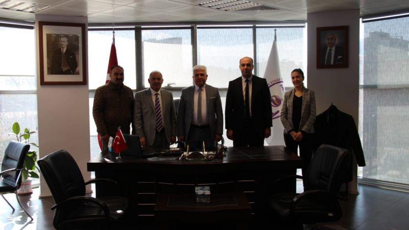 Başkan Pınarbaşı, Niğde Yeni Sanayi Sitesinde İncelemelerde Bulundu