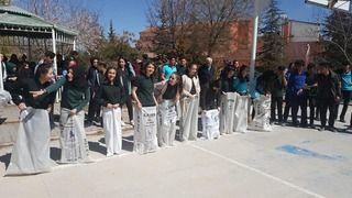 Nevşehir Sağlık Meslek Lisesinde Nevruz ateşi yakıldı