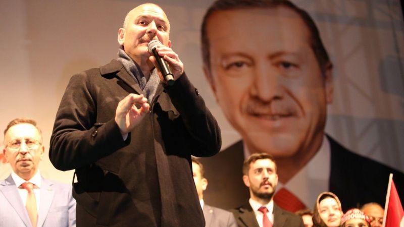 İçişleri Bakanı Süleyman Soylu Nevşehir'de