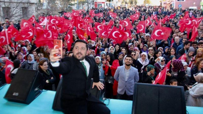 Rasim Arı'dan Nevşehir Halkına Teşekkür
