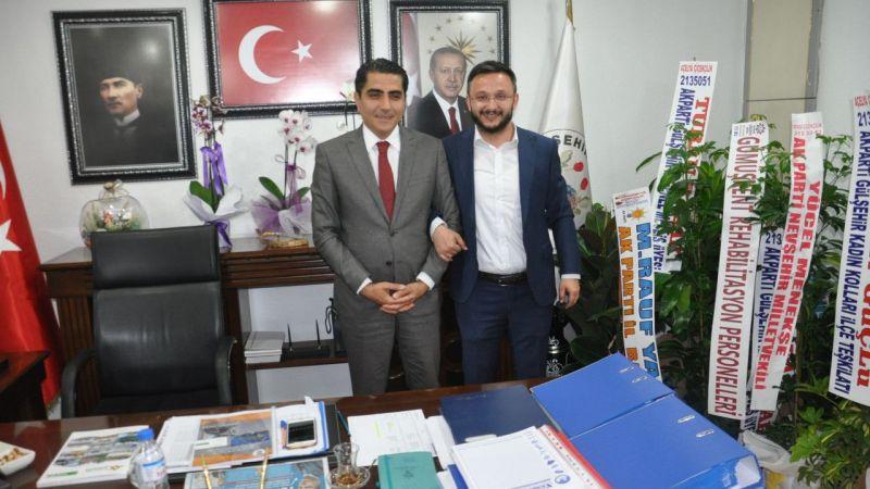Gülşehir Belediye Başkanı Çiftçi'ye tebrik ziyareti