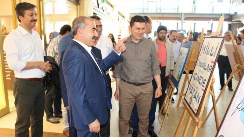 Nevşehir'de 2 Okul Ortak Sergi Açtı
