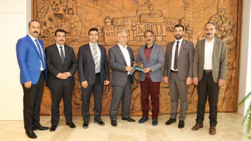 Nevşehir TÜGVA Heyeti, Bağlı ile İstişarede Bulundu