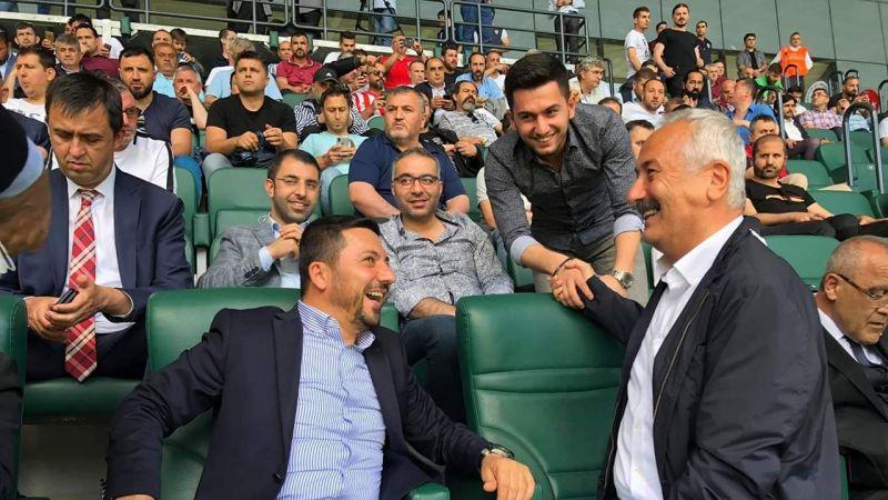 Nevşehir Milletvekili Sarıaslan Tribünlerde !