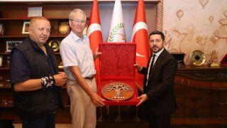 Türk- Alman Dostluk Birliği Üyeleri, Rasim Arı'yı Ziyaret Etti