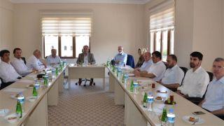 Nevşehir Haziran Ayı İlçe Müftüleri Toplantısı Yapıldı