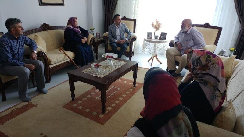 Nevşehir Valisi İlhami Aktaş Kıbrıs Gazimizi Ziyaret Etti