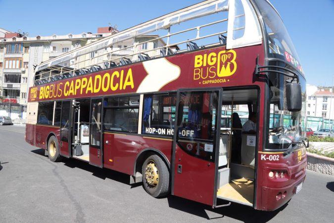 """Nevşehir'de """"Big Bus"""" hizmet verecek"""
