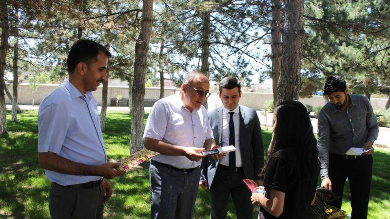 Derinkuyu'da LGS'de başarılı olan öğrencilere yönelik etkinlik