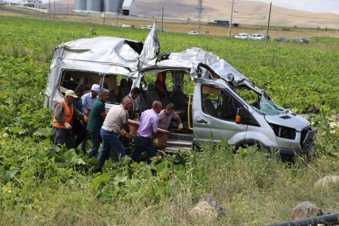 Nevşehir'de trafik kazası: 7 ölü 11 yaralı