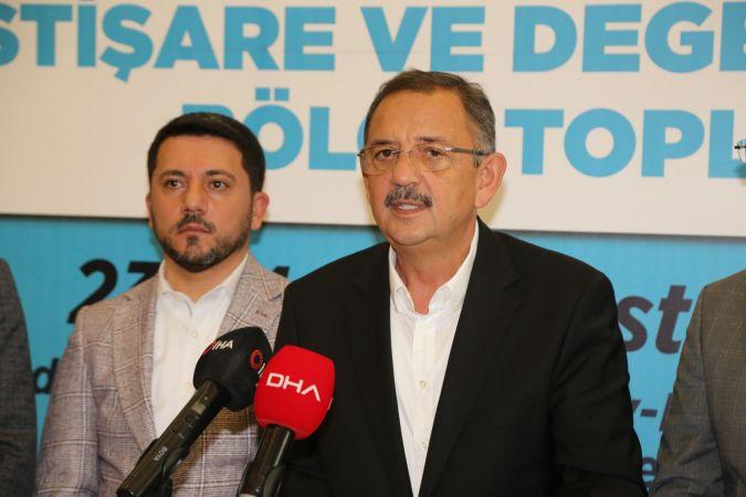 AK Parti Yerel Yönetimler İstişare ve Değerlendirme Bölge Toplantısı