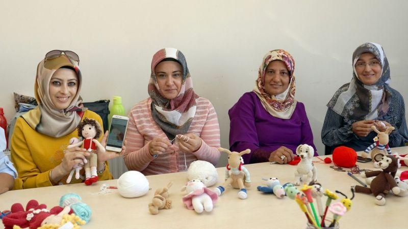 Nevşehir Belediyesinin açtığı kurs kadınlara geçim kaynağı oldu