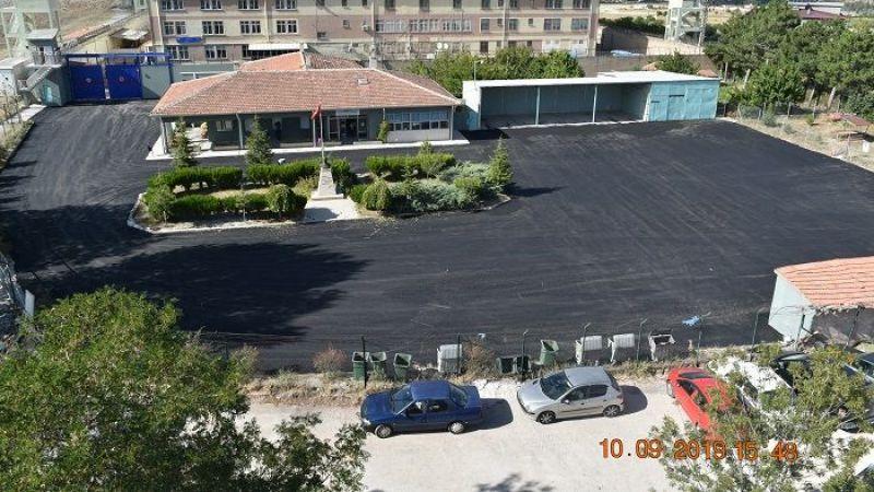 Nevşehir E Tipi Cezaevinde Asfaltlama Çalışması Yapıldı