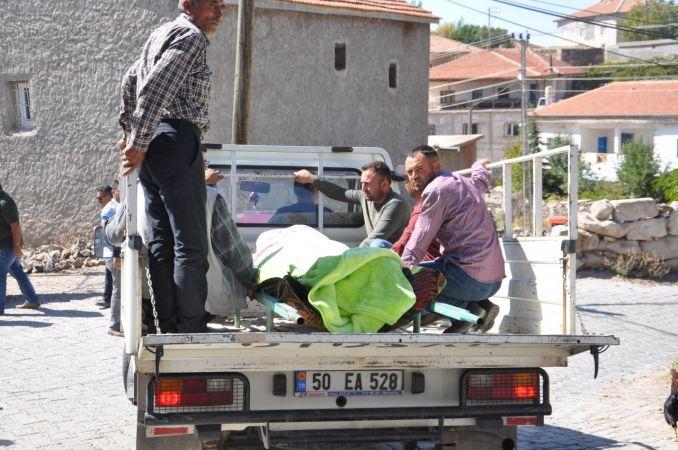 Nevşehir'de eşi tarafından öldürülen kadın toprağa verildi