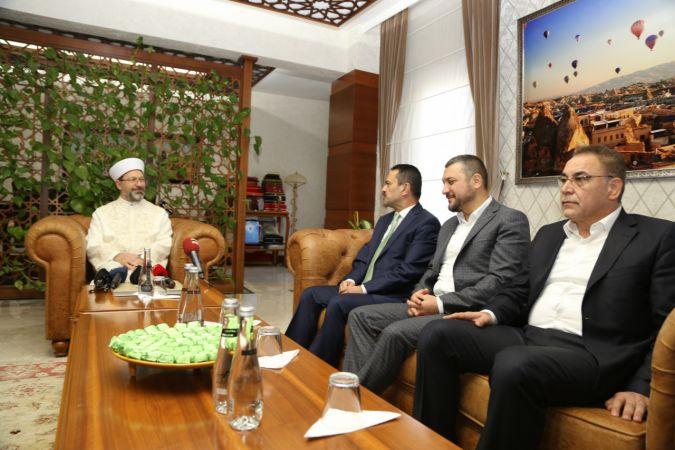 Diyanet İşleri Başkanı Erbaş Nevşehir'de