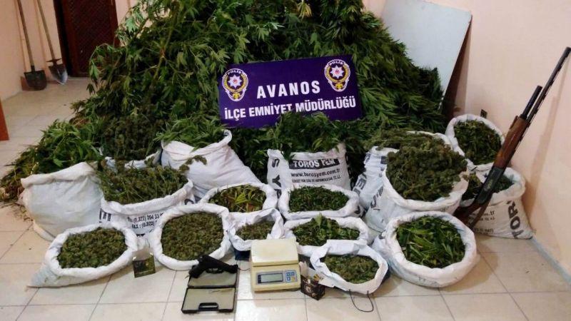 Nevşehir'de uyuşturucu operasyonu