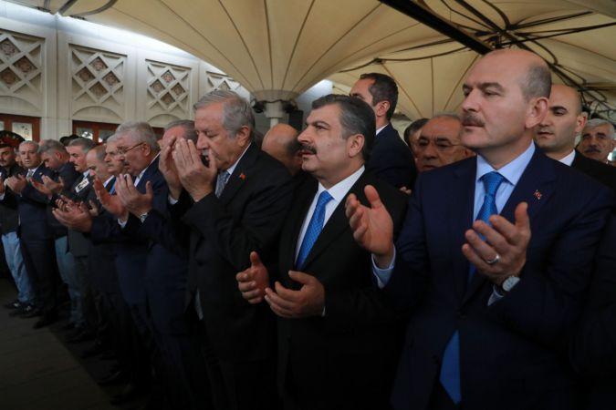 MHP'li Yalçın'ın oğlunun cenazesi toprağa verildi