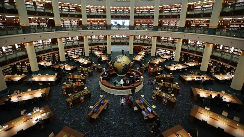 Millet Kütüphanesi Sizi Zamanda Yolculuğa Çıkarıyor