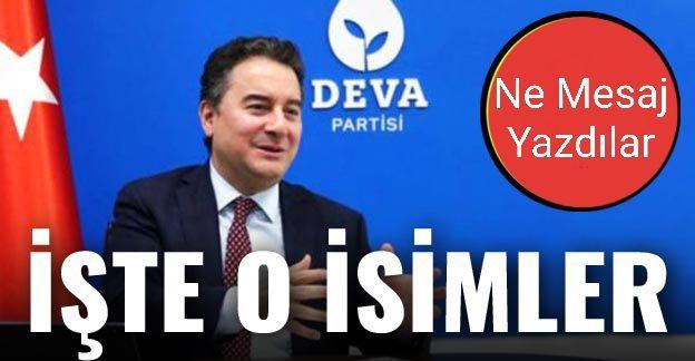 Nevşehir'de DEVA Partisine Kimler Başvurdu?