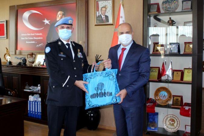 BM Polis Birimi Başkanı Carrilho Nevşehir'de