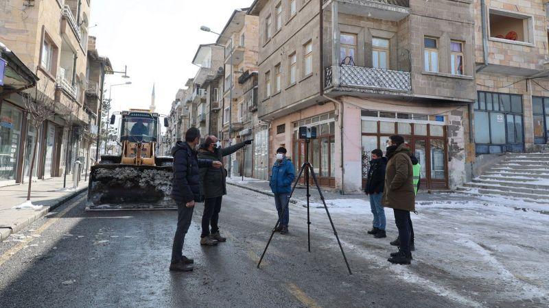 Cami Kebir Caddesi'nde Sokak Sağlıklaştırma Projesi Başladı