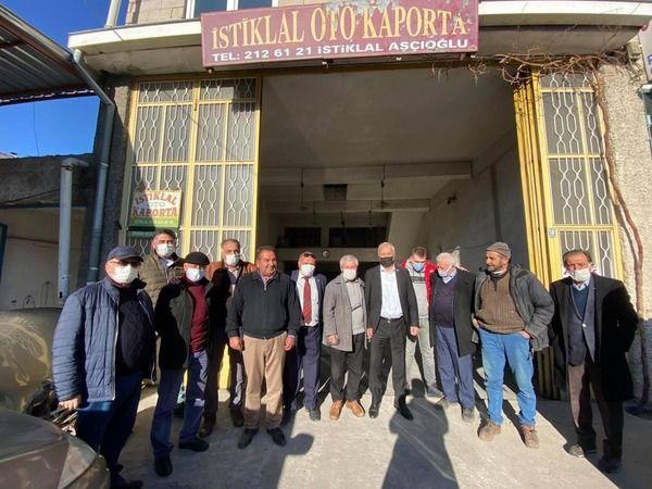 CHP Nevşehir Milletvekili Sanayi Esnafıyla Görüştü