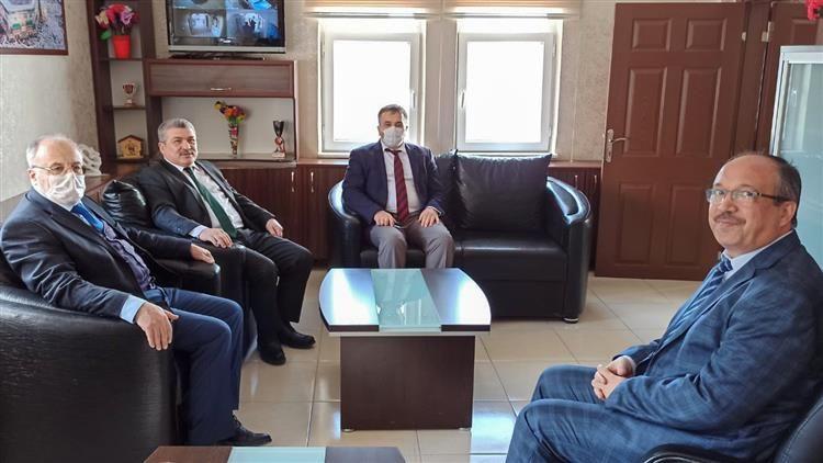 Altunkaya Kırşehir İl Müftüsünü Ziyaret Etti