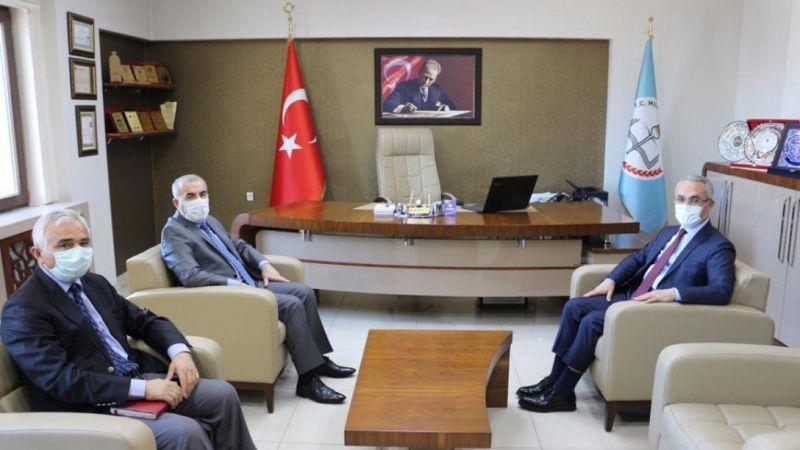 NEVBİAD'tan Milli Eğitim Müdürü Murat Demir'e Ziyaret!