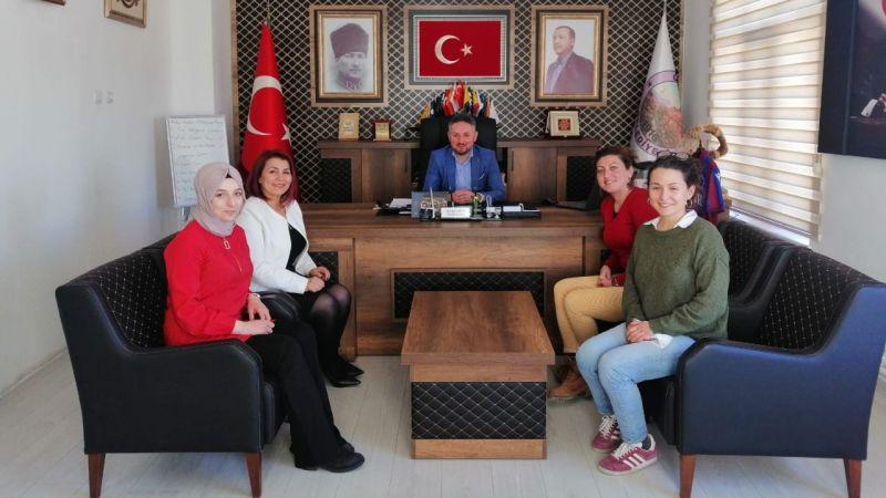 ÜREVKAD'tan Başkan Ateş'e Ziyaret