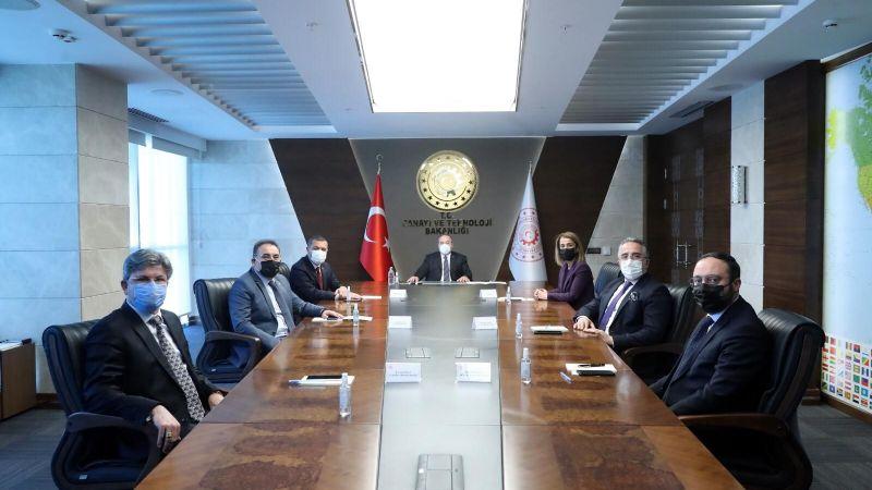 Nevşehir Heyeti'nden Bakan Varank'a Ziyaret!