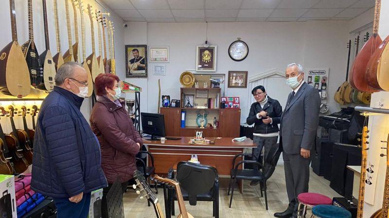 CHP'li Sarıaslan ve Heyetinden Nevşehir Esnafına Ziyaret!