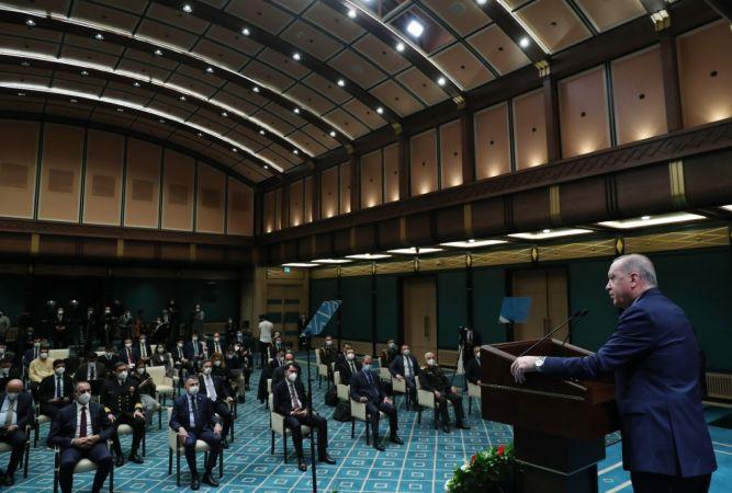 Cumhurbaşkanı Erdoğan'dan Emekli Generallere Cevap