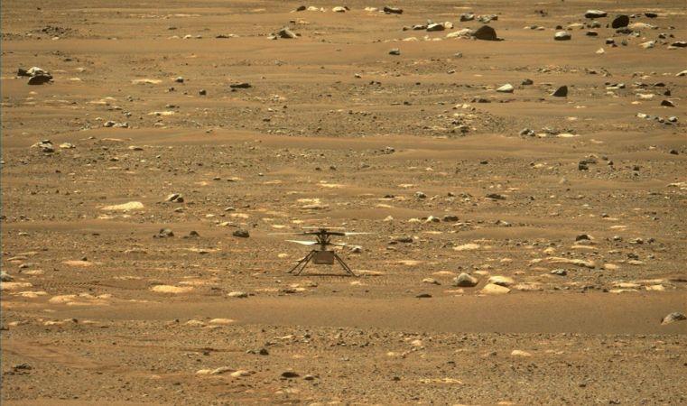 Mars Helikopteri İlk Uçuşunu Yapacak