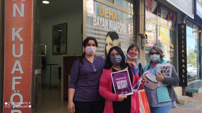 CHP Kadın Kolları Ramazan Ayında Sahada