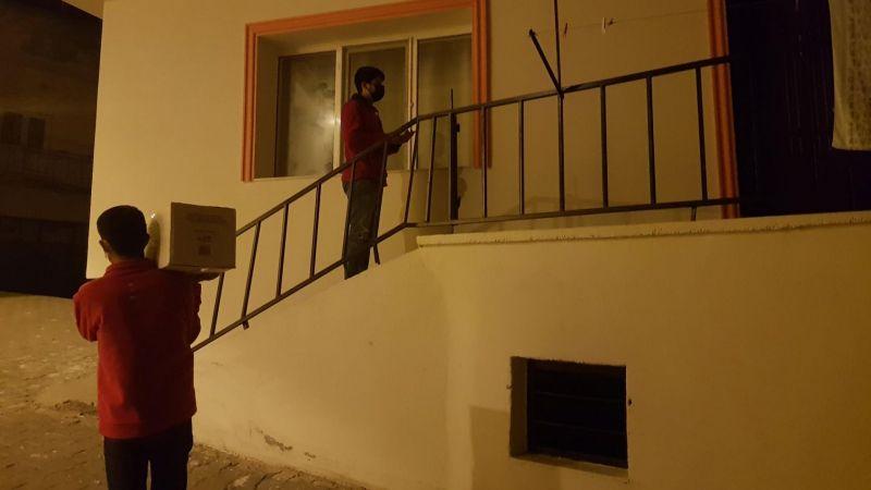 Nevşehir Kızılay,Gece-Gündüz Demeden Sulusaray'da İhtiyaç Sahibi ailelere ulaştı!
