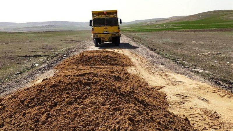 Küllüce'de Kumlama Çalışması Yapıldı