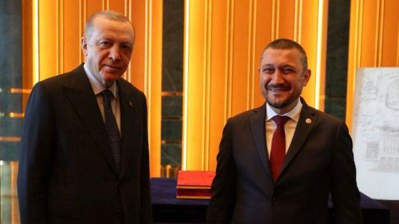 Cumhurbaşkanı Erdoğan, Milletvekili Mustafa Açıkgöz'ün Yüzünü Güldürdü