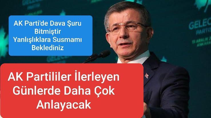 Davutoğlu, Bir Çok AK Partilinin Adeta Sesi Oldu