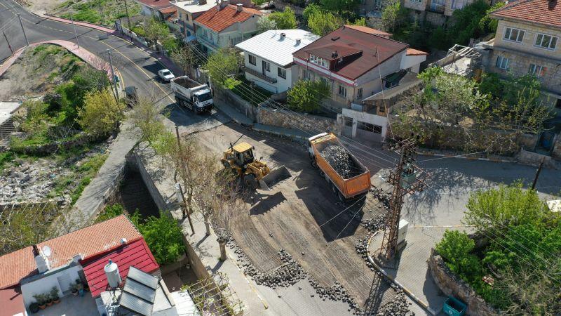 Yavuz Sultan Selim Caddesi'nde Altyapı ve Sıcak Asfalt İçin Çalışmalar Başladı