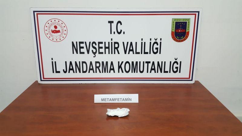 Nevşehir'de Yine Uyuşturucu Madde Bulundu
