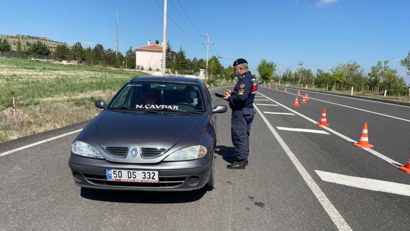 Gülşehir'de Jandarmanın Denetimleri Sıkı