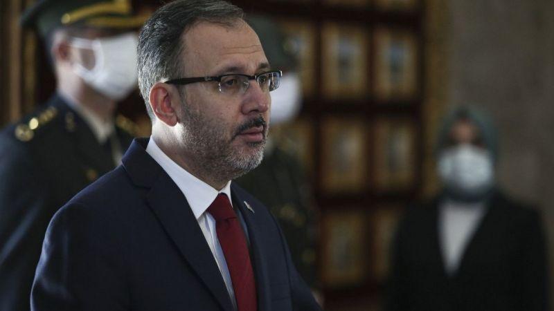 """Bakan Kasapoğlu: """"19 Mayıs'ta Evlerimizden İstiklal Marşımızı Okuyacağız"""""""