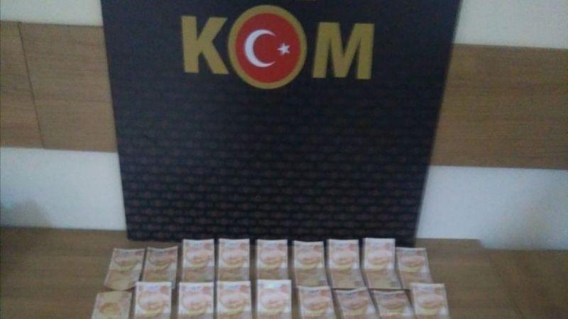 36 Adet Sahte 50 Liralık Banknot Ele Geçirildi