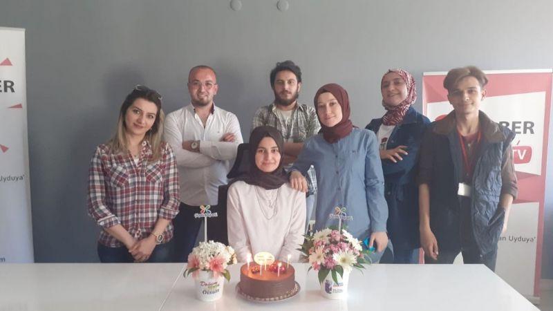 CT Haber Muhabiri Melisa Salman'ın Mutlu Günü